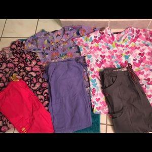 Scrub bundle set of 3- all size medium